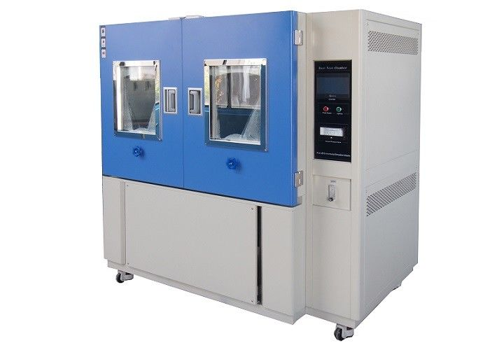Aircraft Ingress Protection Test Equipment IP Rating Sand And Dust Climate Chamber 800L