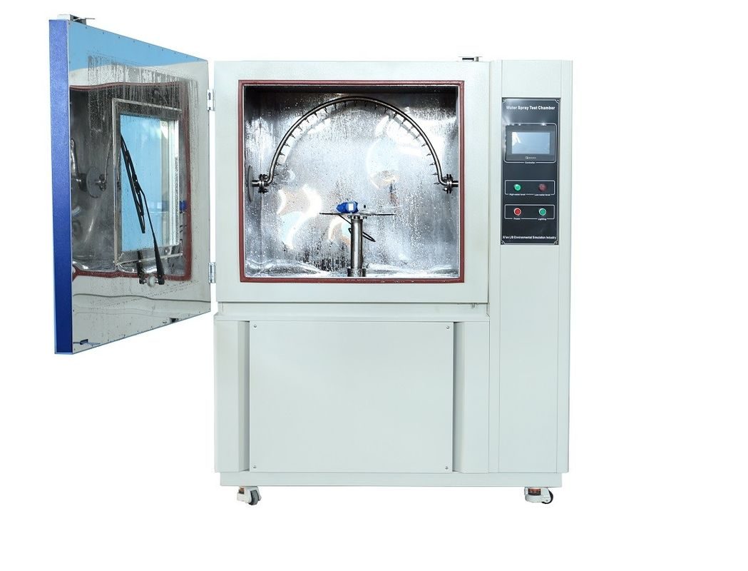 Simulation Water Spray Test Chamber Water Temperature Testing Equipment